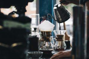 Kaffee filtern